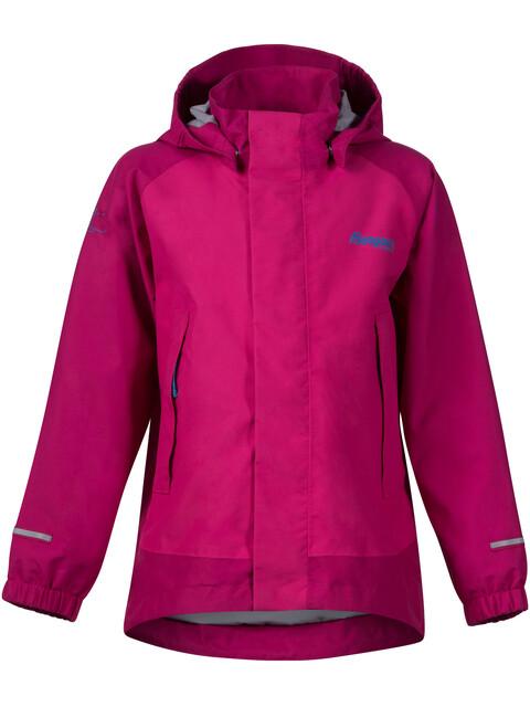 Bergans Kids Knatten Jacket Hot Pink/Cerise/Light Winter Sky